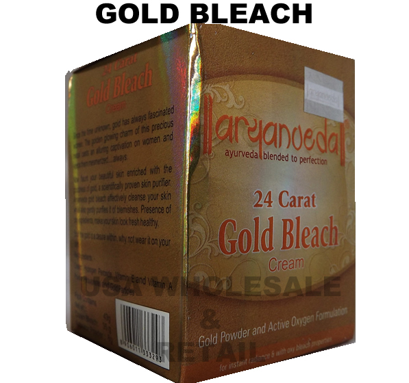 Aryanveda Gold Bleach Facial Hair and Skin