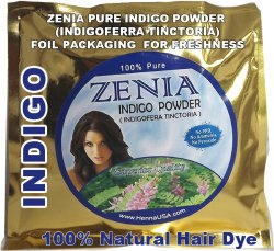 Indigo Powder Indigofera Tinctoria Natural Hair Dye