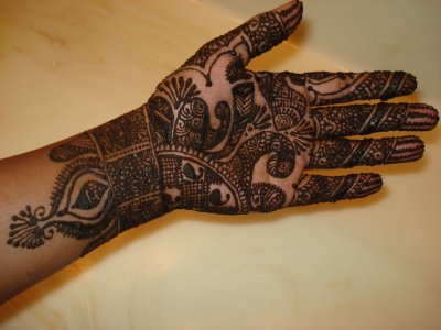 Henna Design for Hand