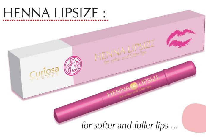 Henna Lips: Henna Lipsize Lip Pen Hydrate And Stimulate Collagen